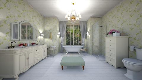 shabby - Bathroom - by rebeca_scmoraes