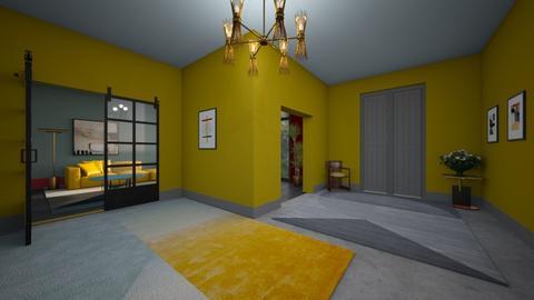 apartment hallway - Modern - by kitty