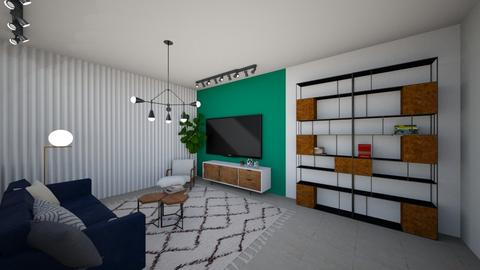 nordi living room - Modern - Living room - by sk disigns