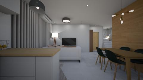 new 1 - Living room - by selperu