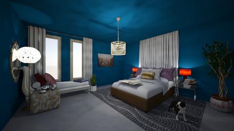 Kerry bedroom - Eclectic - Bedroom  - by 11Kay11
