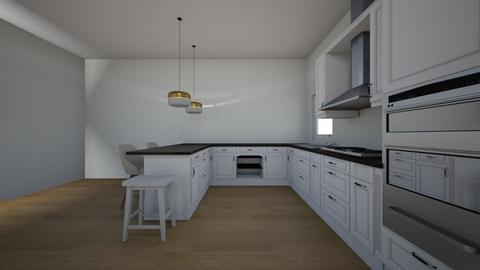 3bhkitchen - Kitchen  - by Architectdreams