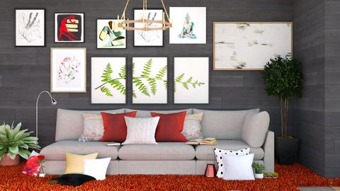 Living room - Modern - by MB2006