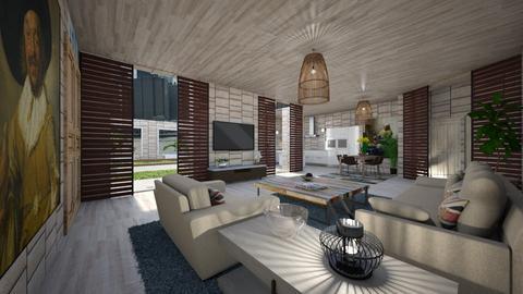 Blue - Living room - by rosanebpf