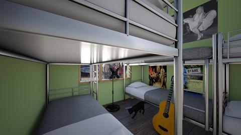 Boarding House Bedroom - Bedroom  - by SammyJPili