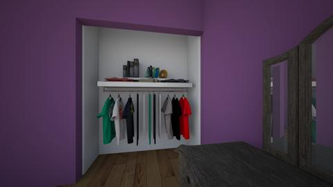 keiras room  - Minimal - Bedroom  - by Hellmara
