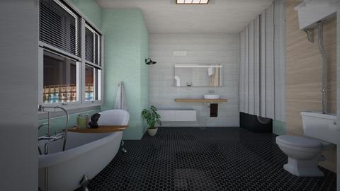23 12 20 - Eclectic - Bathroom  - by agnieszka_giez