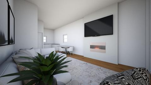 Lounge Wood Floor - Living room  - by mbennett111