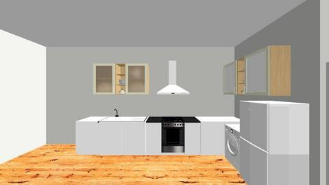 Kitchen  - Classic - Kitchen - by plotinga