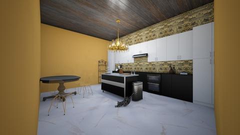 Yes - Modern - Kitchen - by brobro