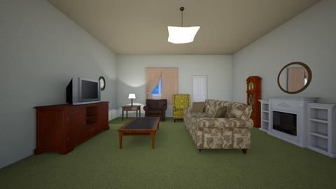Classic Green - Living room  - by mspence03
