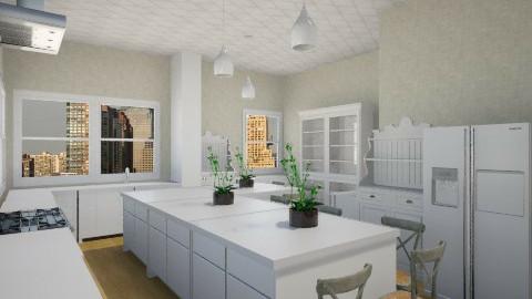 New York Eat In - Modern - Kitchen  - by DiamondJ569