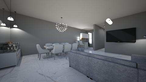 KeF - Masculine - Living room  - by kelly lucena
