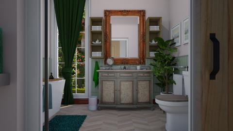 EC bathroom - Eclectic - Bathroom - by donella