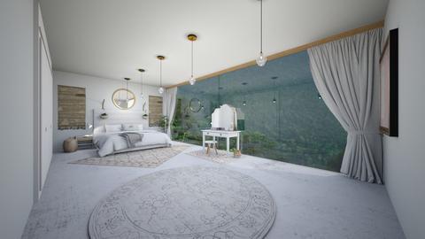 Light Bedroom - Modern - Bedroom  - by evabarrett