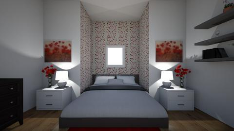 Poppies - Bedroom  - by Design3690