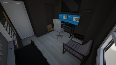 Office dark - Office - by petrolfox