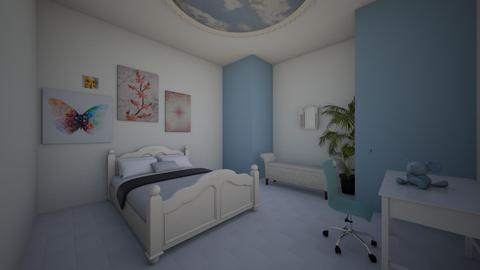 Beachy Room - Bedroom - by SofiGotStyle