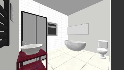 upstairs loo - Bathroom - by designerliv