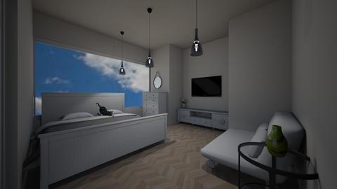 Modern Bedroom - Modern - Bedroom  - by ILoveHome3214