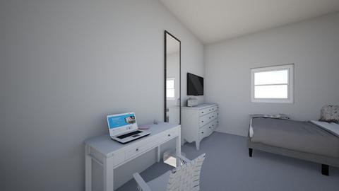 new bedroom - Modern - Bedroom  - by luxxvia