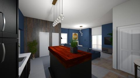 Annaclone Loft - Living room  - by Lisett