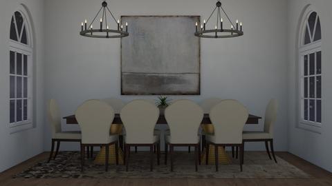 Royal Chandelier - Dining room  - by yellowAri