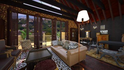vintage attic - Vintage - Living room  - by macus