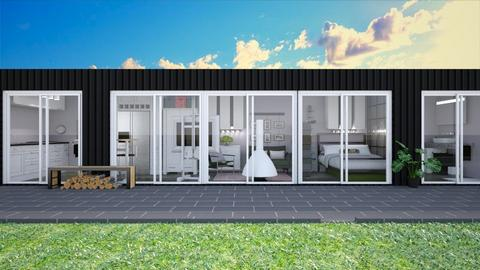 Container home 3 - Modern - by augustmoon