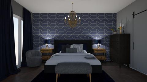 Blue Nights - Bedroom  - by Eleonor Debus
