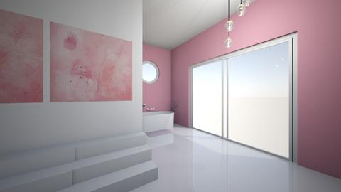 Cherry Blossom Bathroom - Bathroom  - by GingerOavender