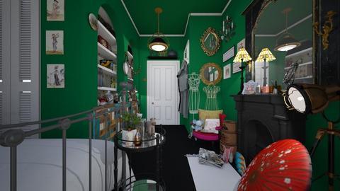 max bed - Vintage - Bedroom  - by donella