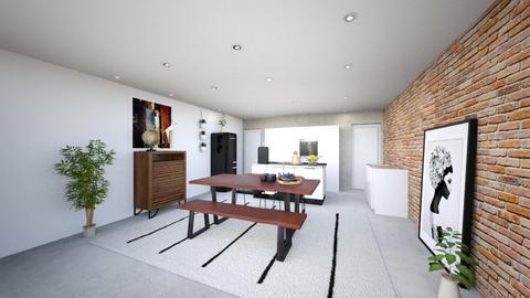 Hengelostraat woonkamer - Living room - by Maylan van der Grift