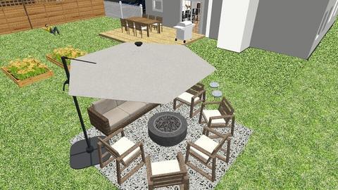 Yard 1 - Garden  - by SarahanneHolli