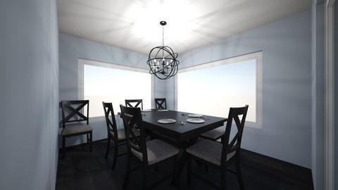 House_Design_2 Dining_Room - Modern - by CarlockE