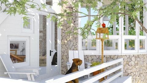 Marlboro Garret Balcony - Eclectic - Garden  - by russ