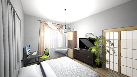 sleeping room - Bedroom  - by Sheolone