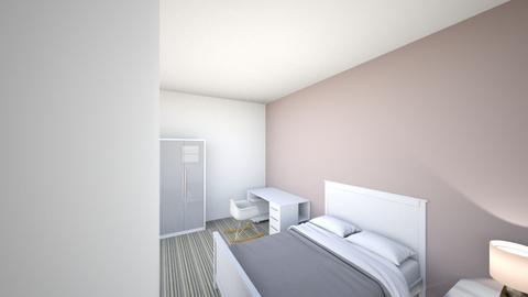 cuarto de invitados - Bedroom  - by miiaigg24