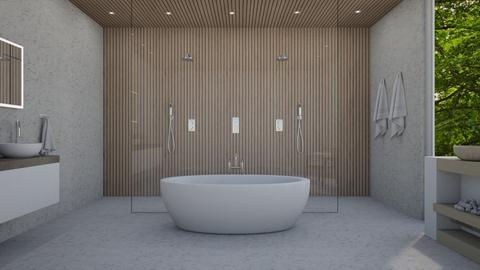 bathroom in nature - Bathroom  - by erladisgudmunds