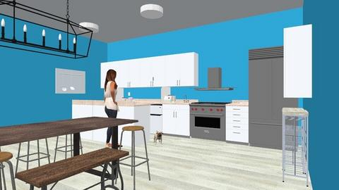 modern kitchen - Kitchen - by ESLB