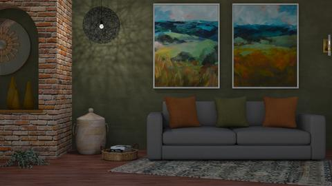 M_West - Living room - by milyca8