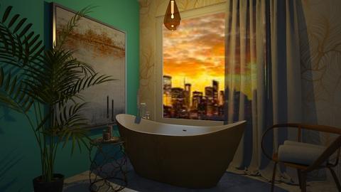 bagno turchese - Bathroom - by enrica75
