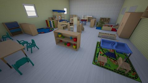 Toddler room - by RULKVKDJJWDVLMDNCEJQGCQBLQXFDQQ