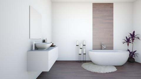 Modern Retreat - Modern - Bathroom  - by Vampire_Kitty
