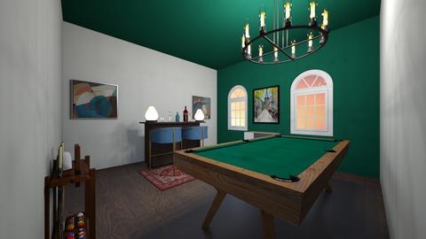 game room  - Retro - by cowplant_4life