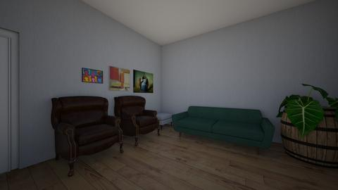 greens and browns 2 - Living room  - by IJH