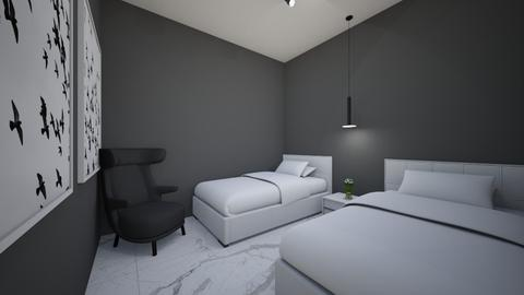 quarto de hospede 02 - Rustic - Bedroom  - by kelly lucena
