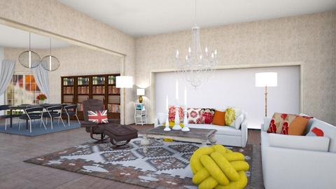 Kullavik Before and After - Living room  - by lpkinteriordesigns