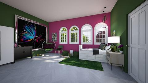 Contest_Agamanta - Feminine - Kids room  - by Khayla Simpson