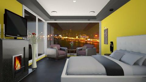 city lights - Modern - Bedroom  - by Navnita